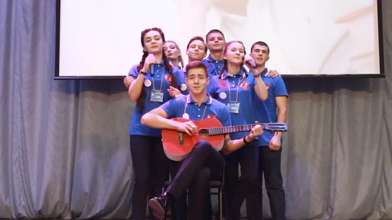 Выступление команды Черногорска в 2017 году