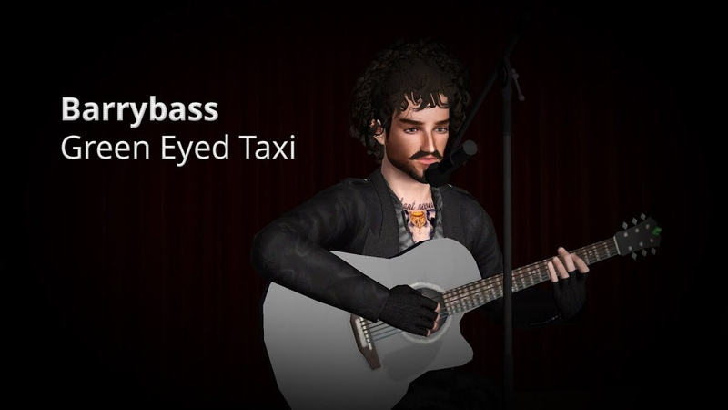 Barrybass - Green Eyed Taxi | Sims 3 machinima