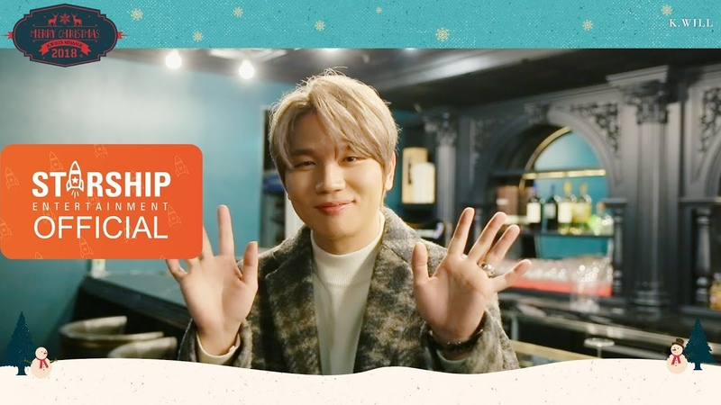 [Special Clip] 케이윌(K.will) - 2018 Christmas Message