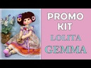 PROMO KIT MUÑECA GEMMA, manualilolis video- 350