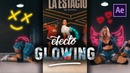 Efecto Animaciones Glowing con Dibujos (Tutorial After Effects)