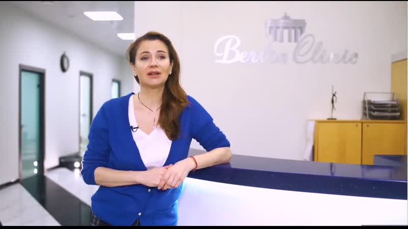 Промо ролик стоматологической клиники BerlinClinic