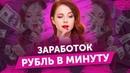 Автоматический заработок рубль в минуту. Заработок с мобильного телефона без вложений