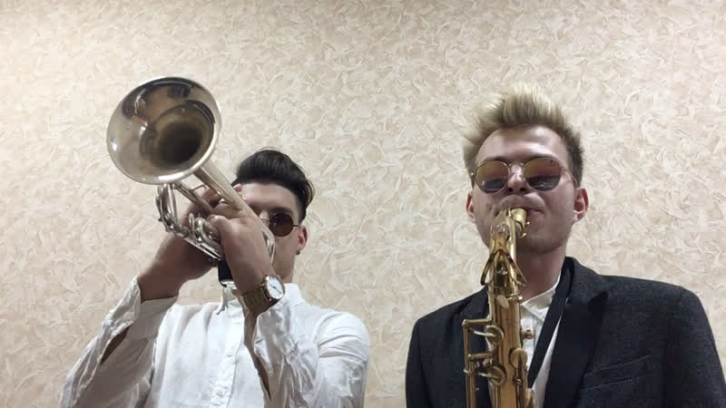 Thrift Shop (cover by Double Pipe)🎺🎷
