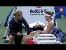 Что говорит Турсунов Арине Соболенко во время перерыва в теннисном мачте