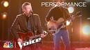 Blake Shelton - Turnin' Me On (The Voice 2018 Live Top 10)