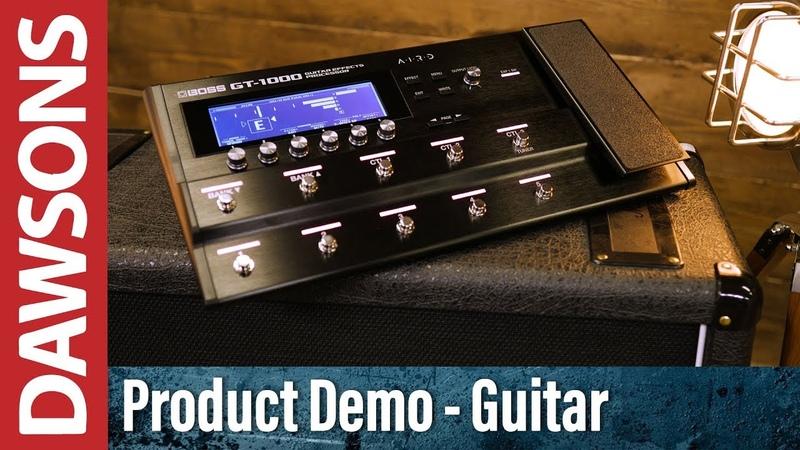 Boss GT-1000 Guitar Effects Processor Review
