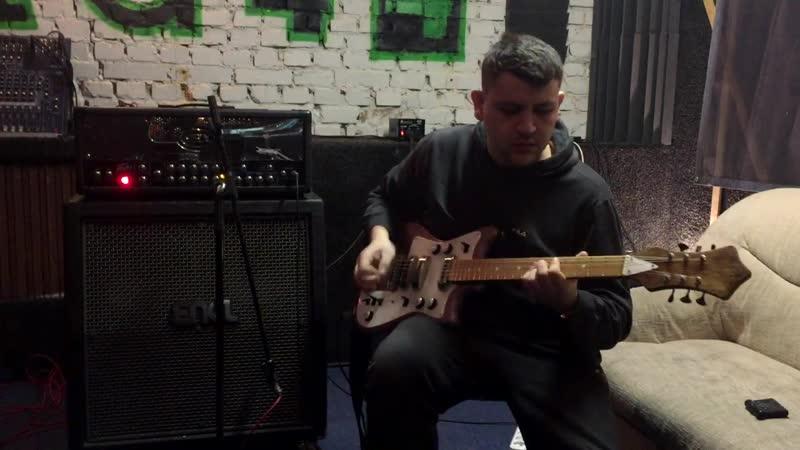 Отреставрированная Борисовская гитара Форманта Соло 2