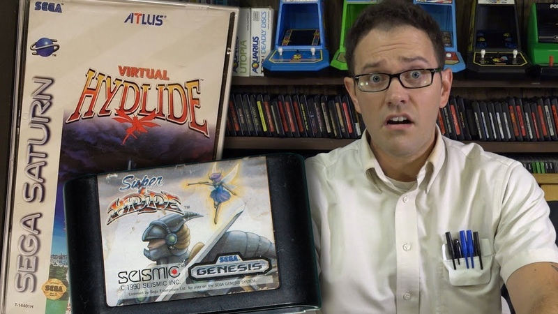 Super Virtual Hydlide - Angry Video Game Nerd (Episode 161)
