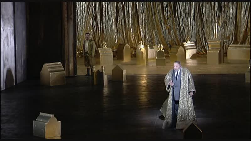 Boris Godunov (Matti Salminen, Stefania Toczyska, Eric Halfvarson, Philip Langrid Willy Decker, Liceu, 2004)