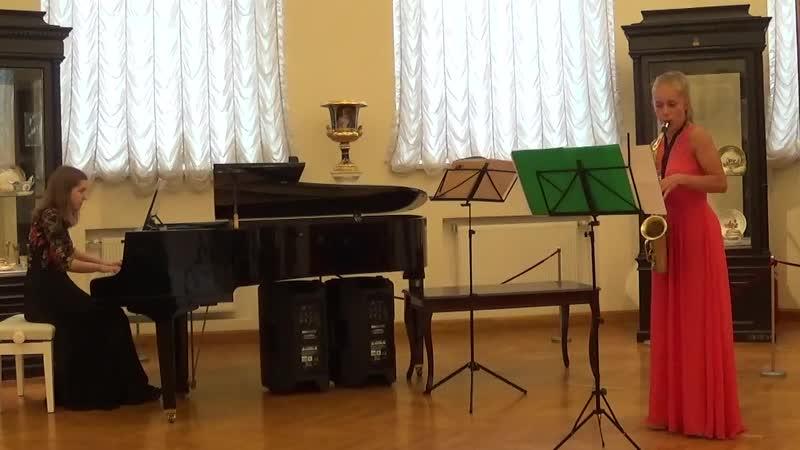 Вадим Генин - Три женских портрета для альт-саксофона и фортепиано