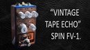 DIY StompBox-2.8 FV-1 Tape delay multi-effect.