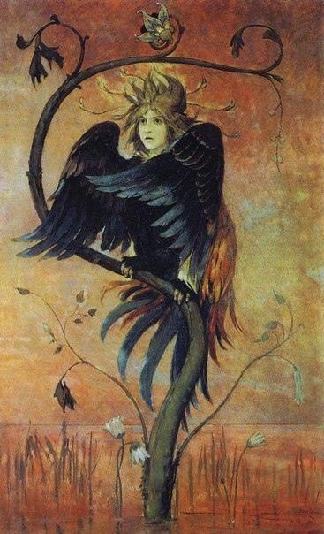 МИФИЧЕСКИЕ ПТИЦЫ В мифологии разных стран большое место занимают образы птиц. Зачастую мифические птицы противостоят злым разрушающим силам, но есть среди них и такие, которые сами несут смерть.