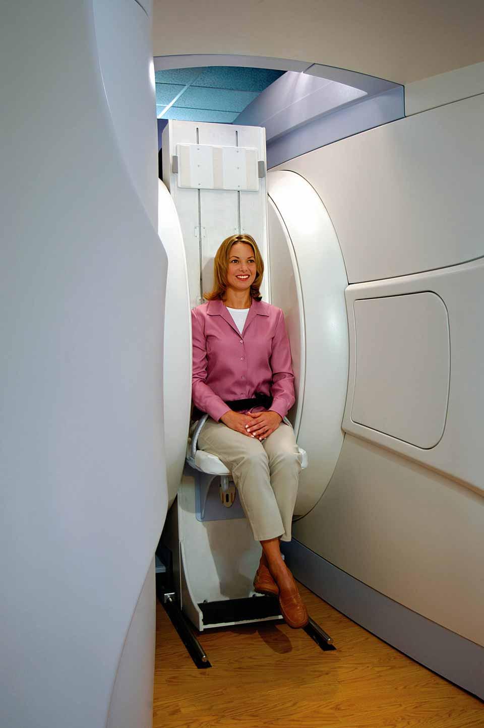 вертикальная стойка МРТ