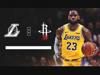 ?Los Angeles Lakers vs Houston Rockets (05:30 МСК на русском языке)