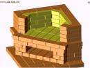 Угловой камин Аннушка