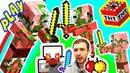 ПРоХоДиМеЦ и СТИВ Нашли СОКРОВИЩА и Показали Кто ГЛАВНЫЙ под ЗЕМЛЕЙ 190 Игра для Детей Майнкрафт
