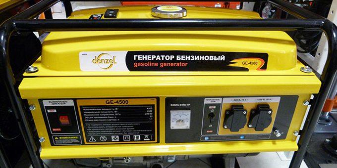 Что такое бензиновый генератор?