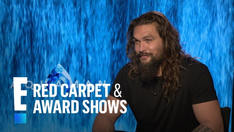 Jason Momoa Recalls Putting on Aquaman Suit For First Time | E! Red Carpet Award Shows