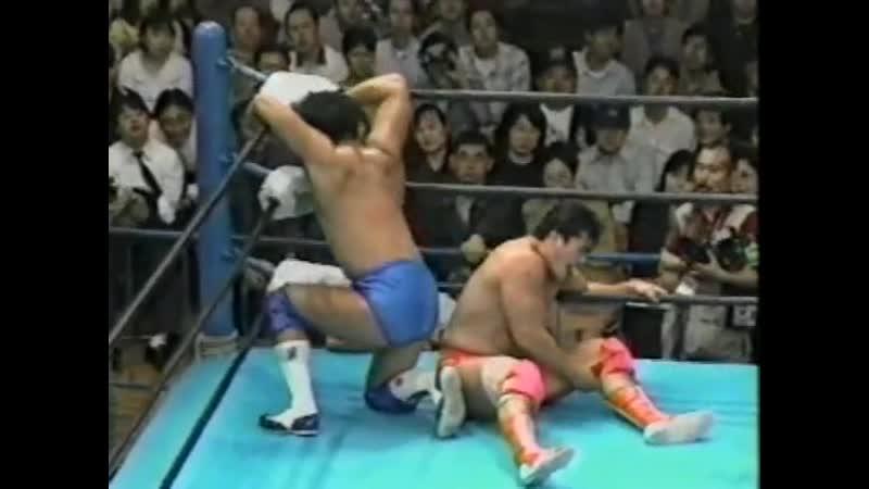 1998.04.11 - Kenta Kobashi vs. Jun Akiyama
