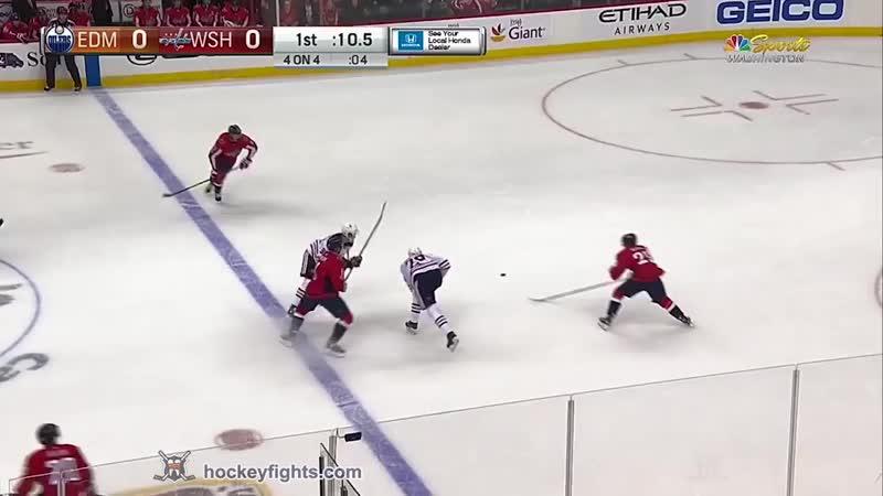 Hockeyfight Patrick Maroon vs Tom Wilson Nov. 12, 2017 Хоккейные драки