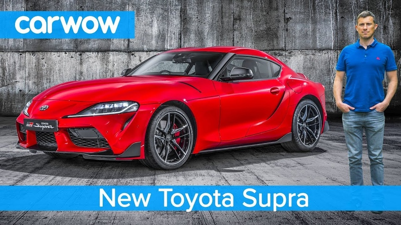 New Toyota Supra 2020 - EXCLUSIVE footage everything you need to know!