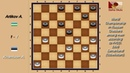 Artikov A. UZB - Khantson A. EST. World_Russian Checkers_Men-1996.