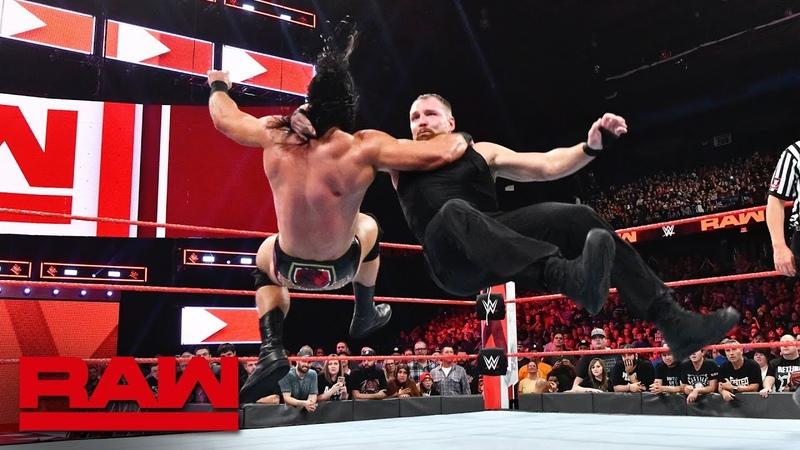 [WBSOFG] The Shield vs. Braun Strowman, Dolph Ziggler Drew McIntyre Raw, Oct. 8, 2018