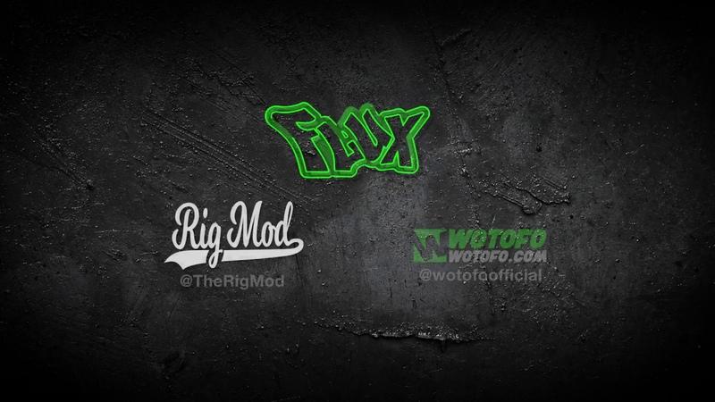 Wotofo Rig Mod Flux Kit