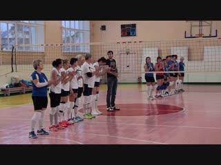 Турнир по волейболу среди ветеранов
