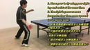 Slow Motion Table Tennis Demo:Aggressive Forehand Loop by Elite Player 慢鏡示範 正手前衝弧圈球