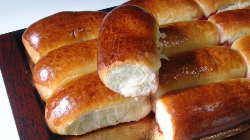 Сдобные, дрожжевые пирожки с вишней, как у бабушки. Форма NEWCHIC.