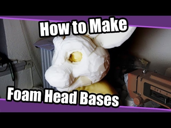 Tutorial 48 Foam Head Base for Fursuits- Bucket Method