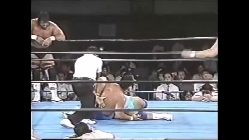 1996.08.22 - Gary Albright vs. Masanobu Fuchi [JIP]