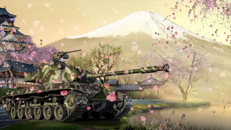 Погоняем на AMX 13 57 GF WorldOfTanks WoT Танки