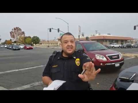 2 Bakersfield police officers get in my face and try to bully me PART 2 (1st amendment)