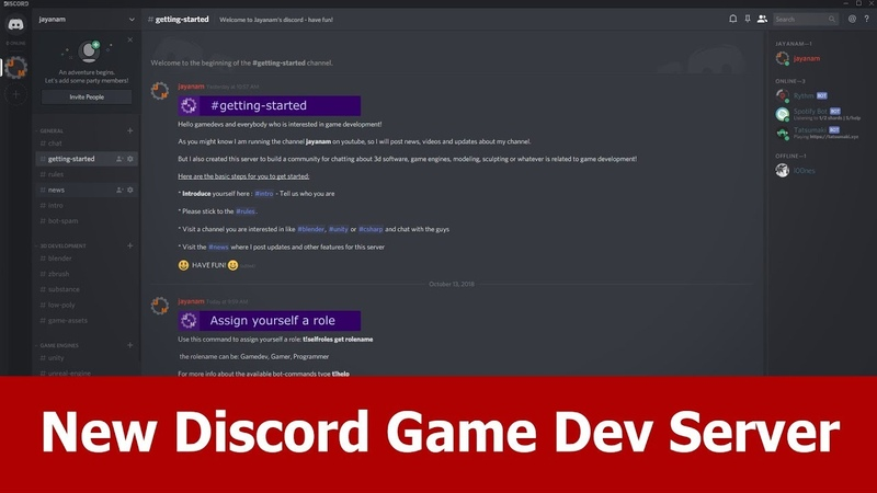 Game Dev Discord Server