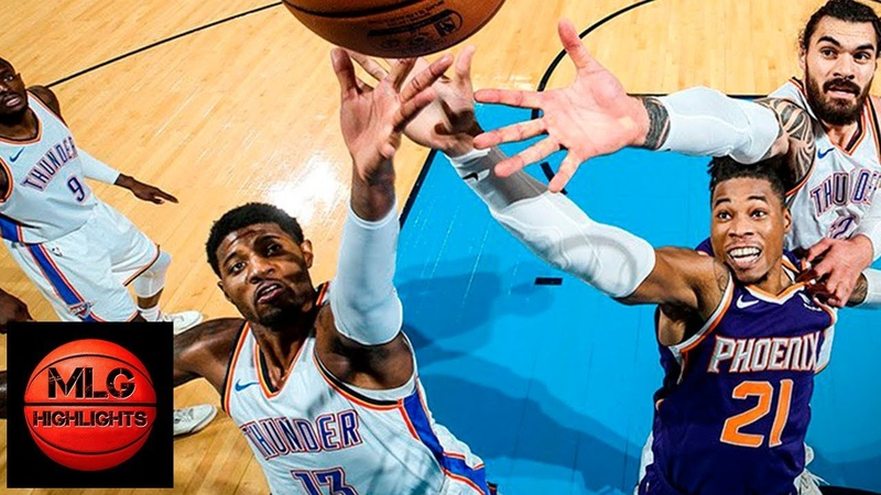 Oklahoma City Thunder vs Phoenix Suns Full Game Highlights | 11.12.2018, NBA Season