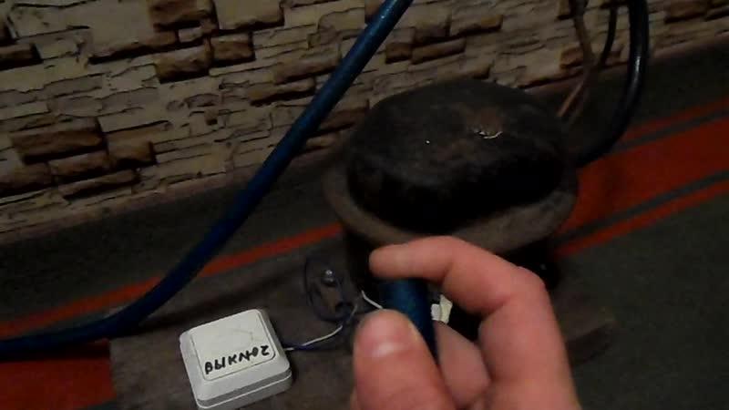 Компрессор для коптильного шкафа холодного и горячего копчения