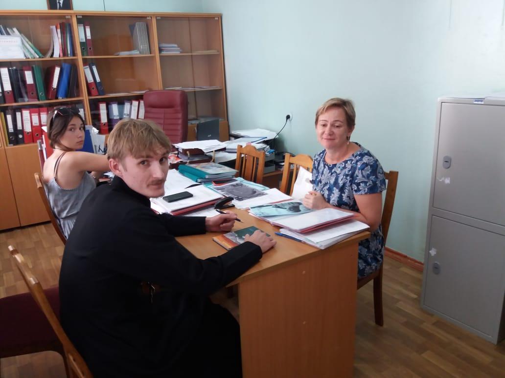 Встреча с администрацией МАОУ СОШ № 13 г. Темрюка по вопросам, связанных с проведением школьных мероприятий