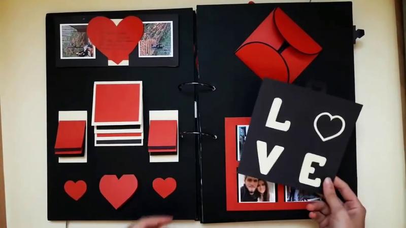 Sevgiliye Hediye Evlilik Teklifi Anı Defteri - Scrapbook 2