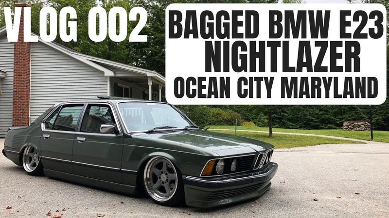 Bagged BMW E23 - NightLazer - 002