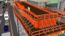MM Skyway Construction Methodology - Google Sketchup
