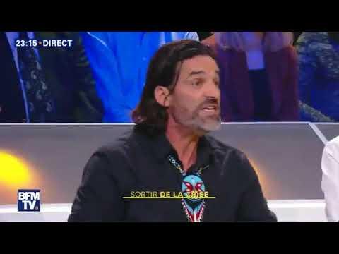 Gilet jaune: Xavier Mathieu clah Ruth Elkrief