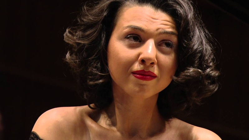 Khatia Buniatishvili – IPO celebrating Maestro Mehta's 80th birthday - 11/4/16 (Tchikovsky, Liszt-Horowitz)