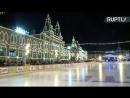 Открытие ГУМ-катка на Красной площади — LIVE