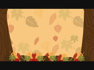 Autumn Leaves Are Falling Down - Fall Song - Preschool Songs - The Kiboomers