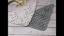 Шаль мини шаль бактус крючком узор для шали crochet shawl Часть 1