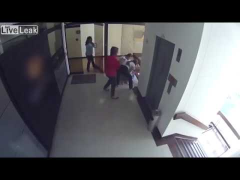LiveLeak Mother saves her son from dangerous fall