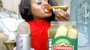 Pickle ASMR Eating Sounds BIG Crunch Intense